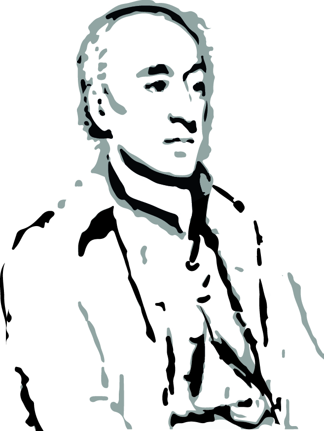 James Hutton Portrait