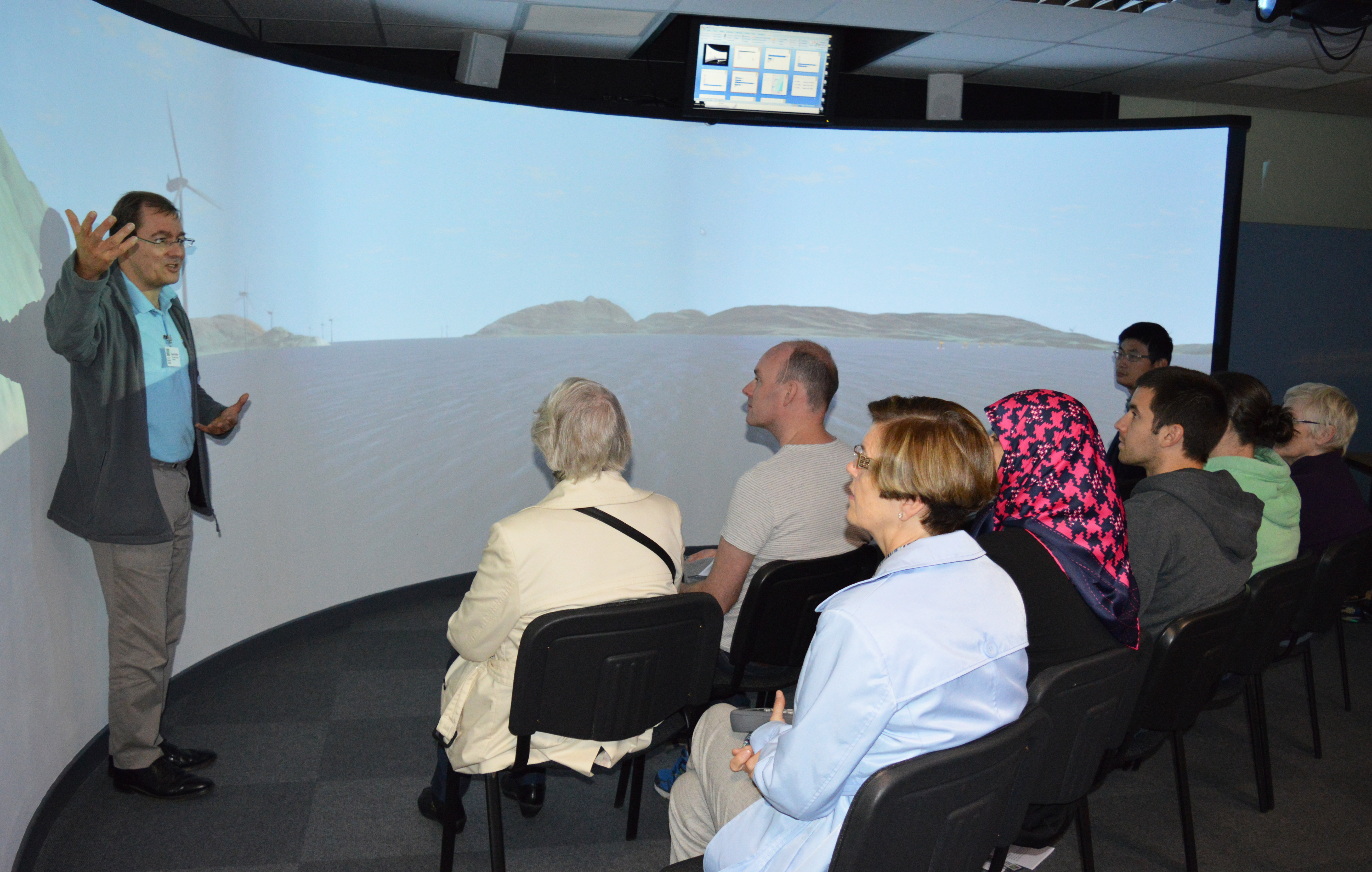 VR suite at JHI