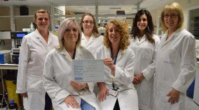 Lipid Team with AOCS Award