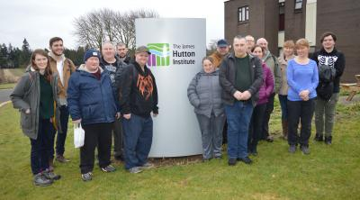 DAMH Greenbuds group at James Hutton Institute