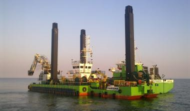 Green oil rig
